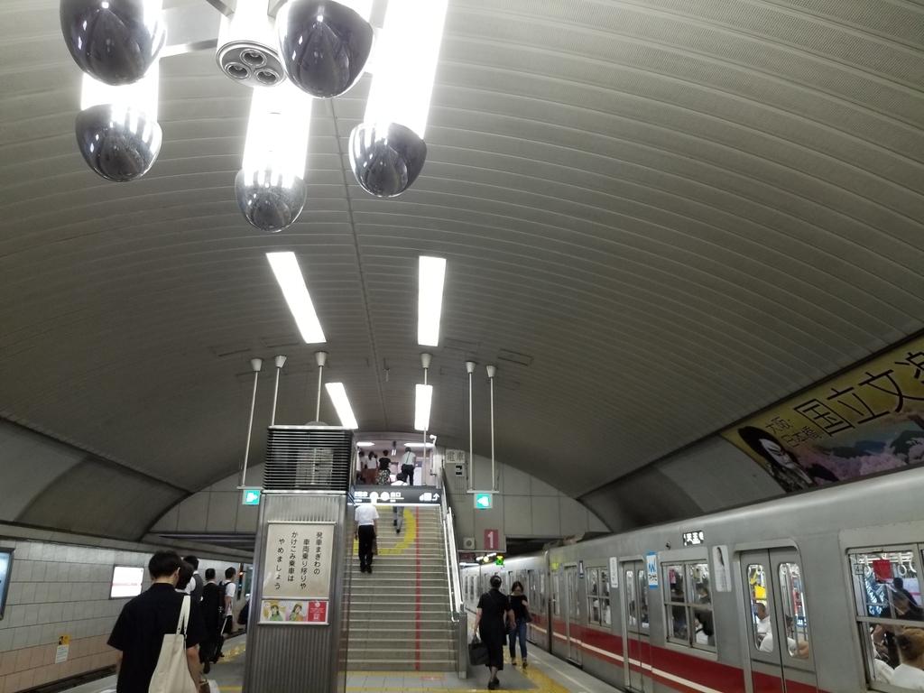 御堂筋線淀屋橋駅