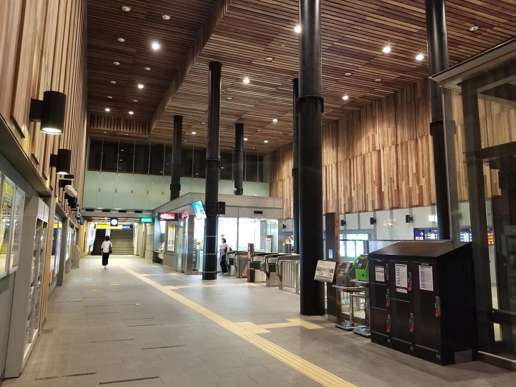 京阪なにわ橋駅改札
