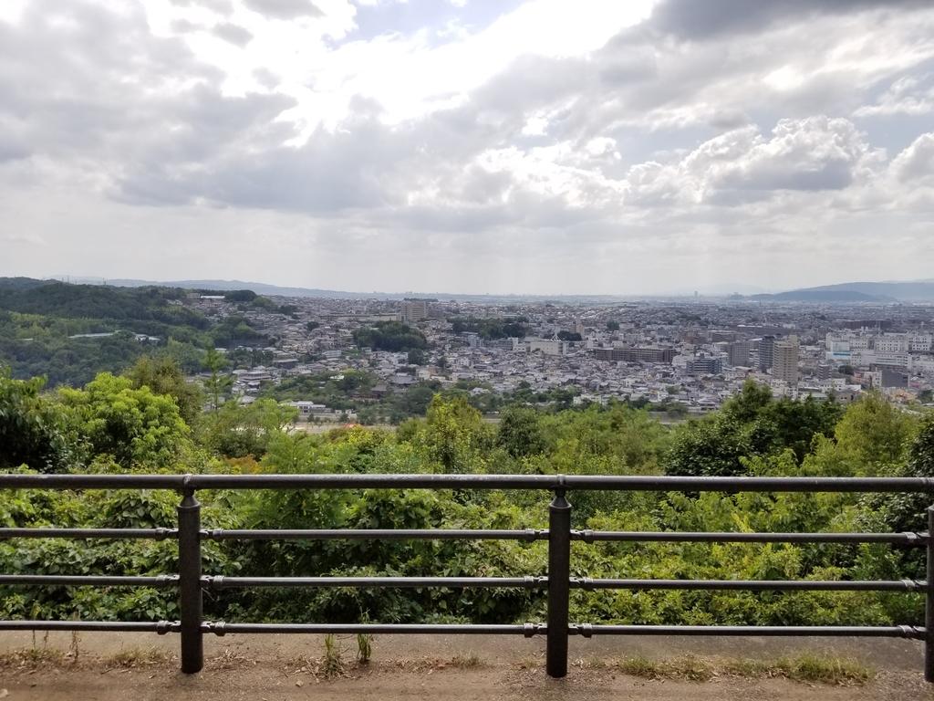 大吉山展望台からの眺め