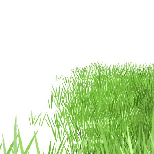 素材 配布 素材配布 木 草 葉っぱ 芝生 雑草 葉 自然物 フリー素材 自作ブラシ カスタムブラシ MediBang Paint メイキング