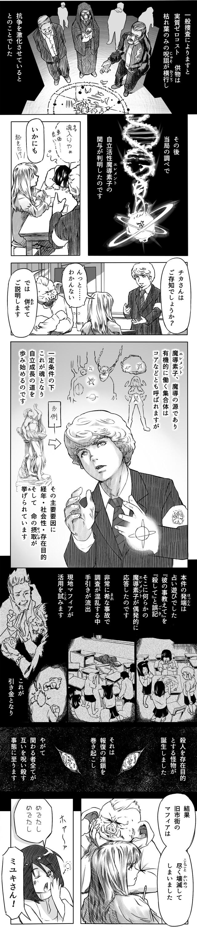 メガロポリタン大魔道‐自家製WEB漫画