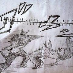 おっさんのウチが描いたアンパンマン