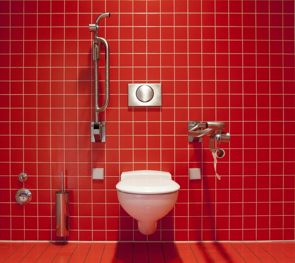 トイレ掃除が行き届いていない家