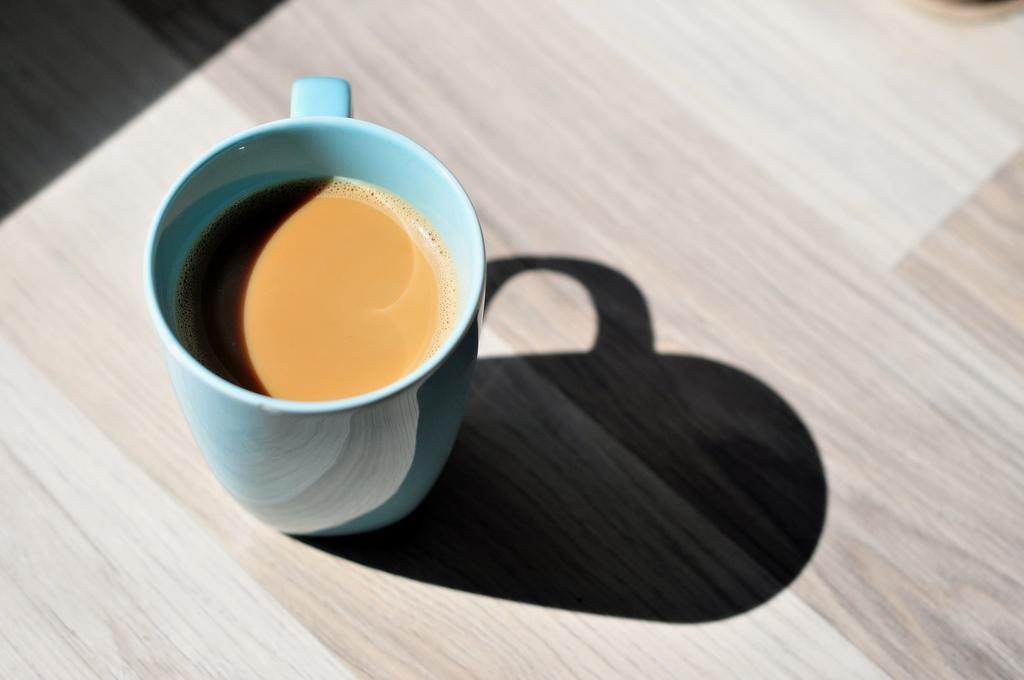 朝のコーヒーですっきり目覚める
