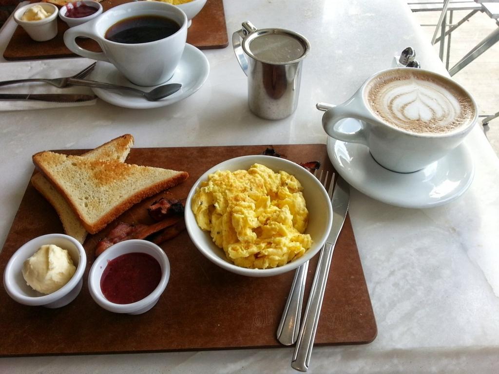 美味しい朝食を用意して目覚めスッキリ