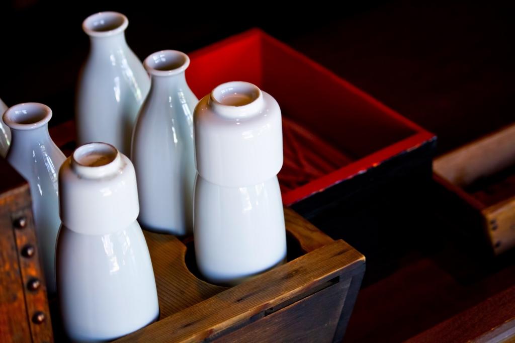 とっくりと日本酒で冷え性改造