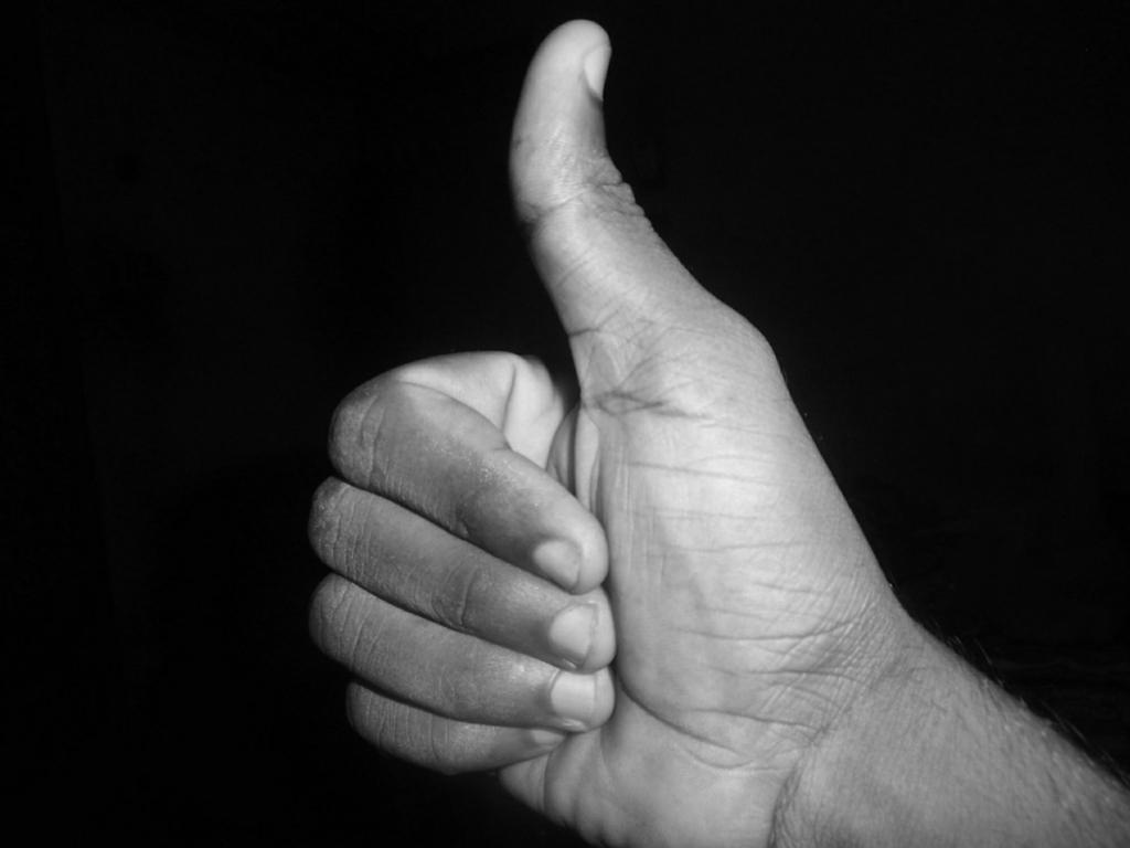 指の太さで判断する性格チェック