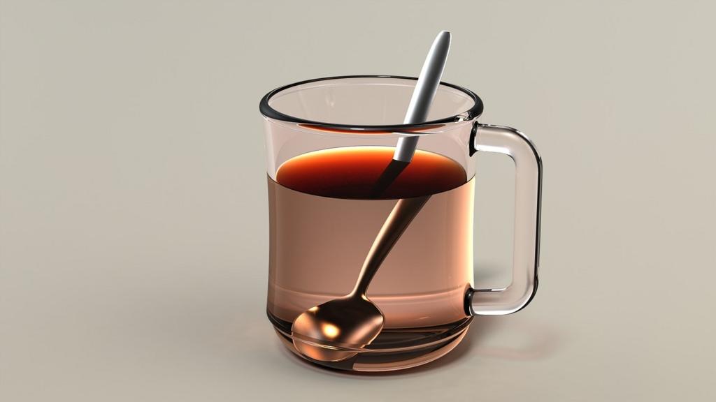 ダイエット中はあたたかいお茶をアイスを食べたあとに飲む
