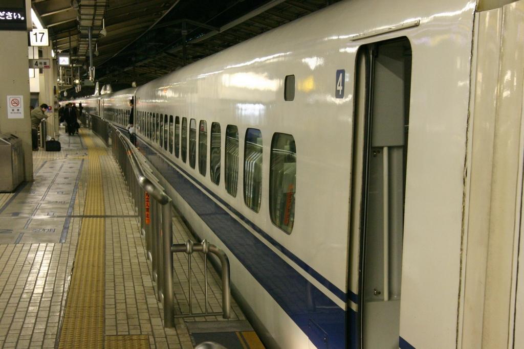 新幹線の自由席は偶数号車をねらう