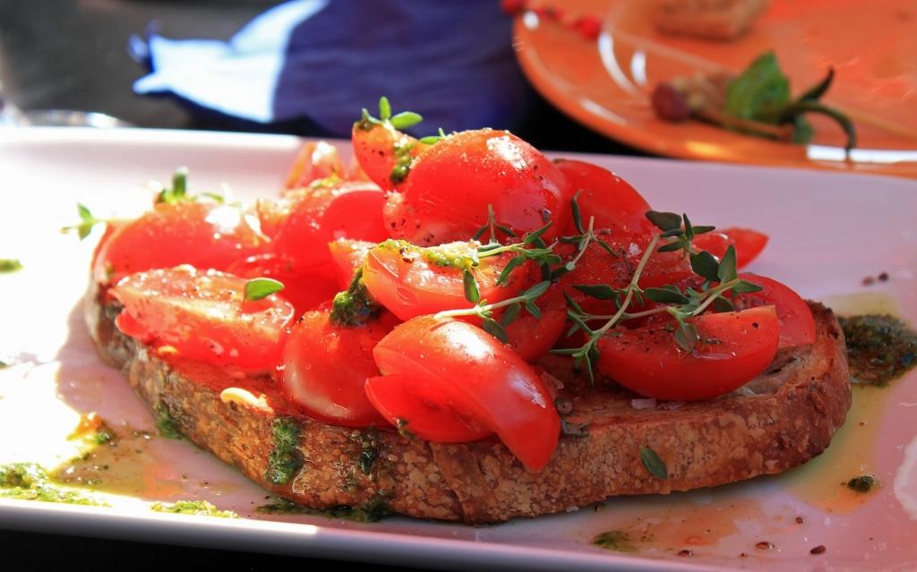 ブルスケッタはトマトのおすすめの食べ方