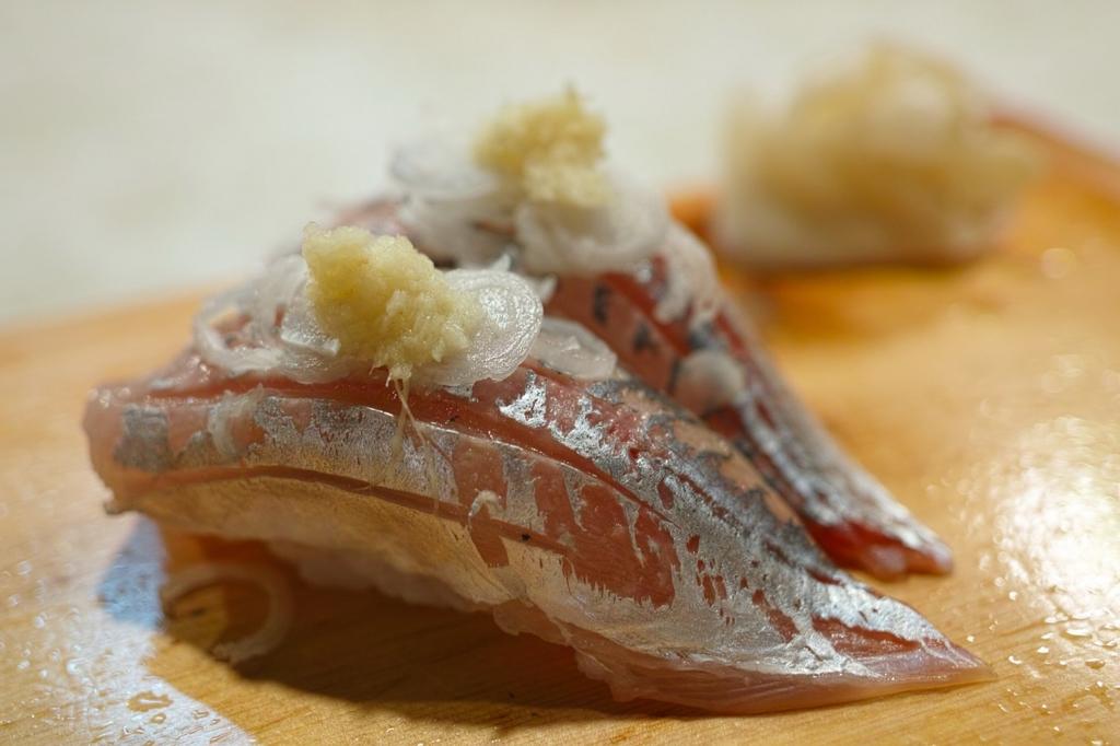 お寿司を食べる正しい順番