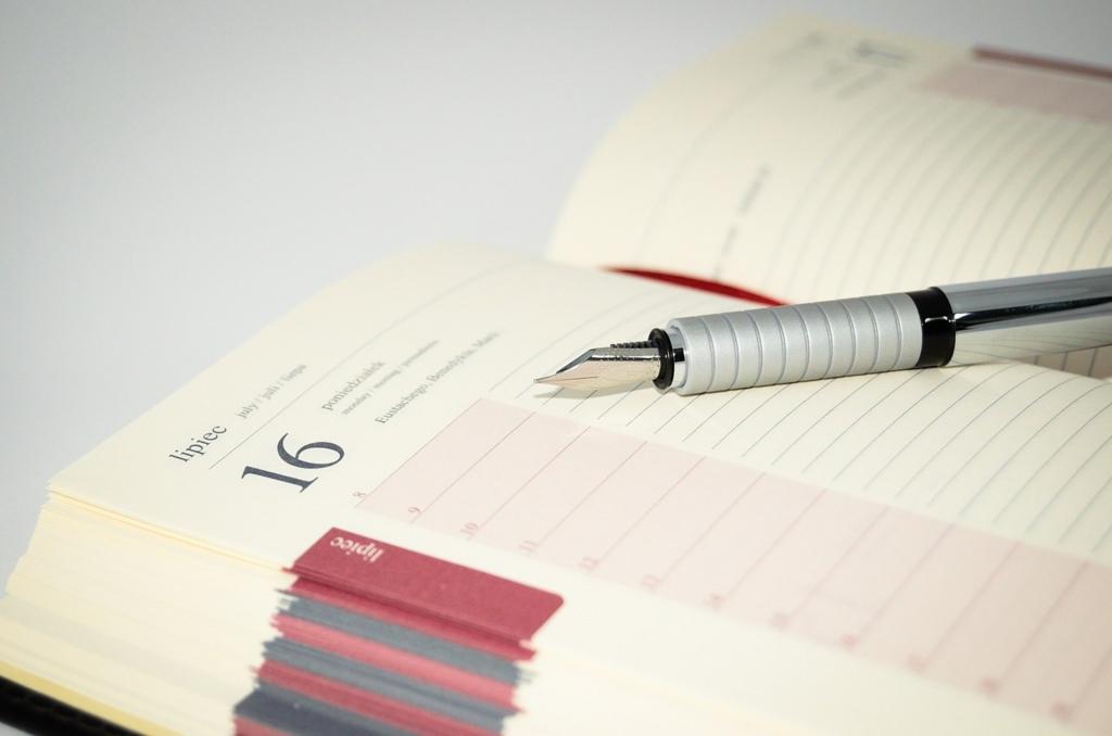 日記を付けると自分の成長を確認できる