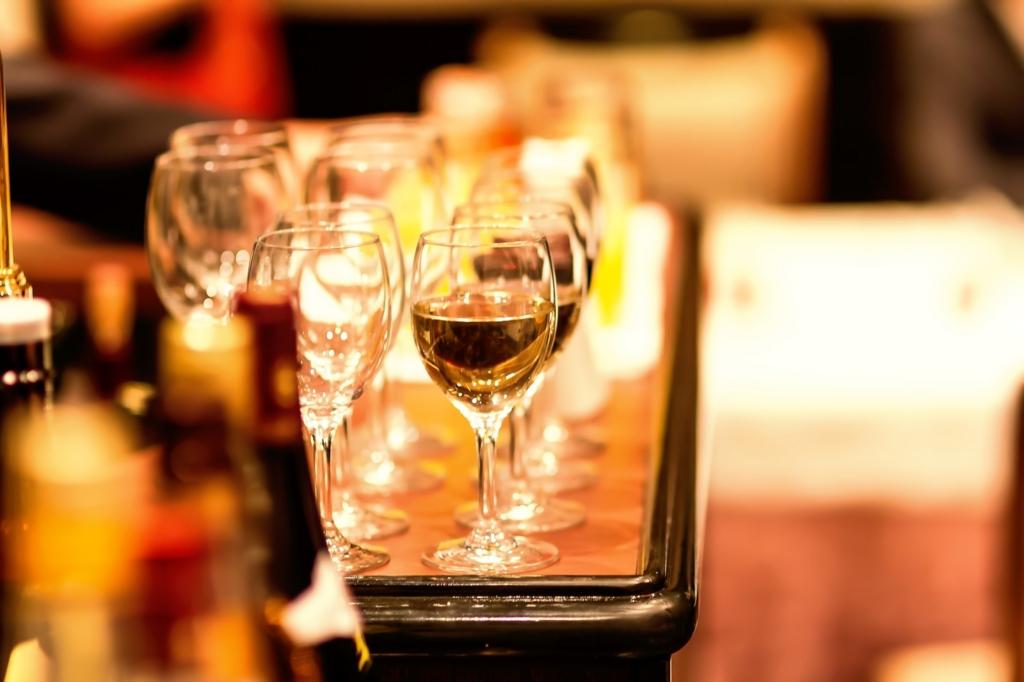 ワインは辛口を先に甘口を後に飲む