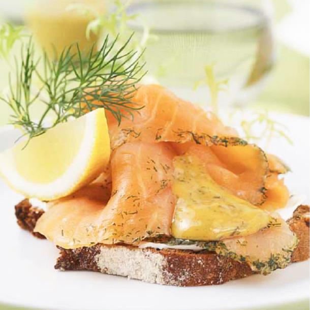 イケアのスモークサーモンマリネは本当に美味しい北欧食品