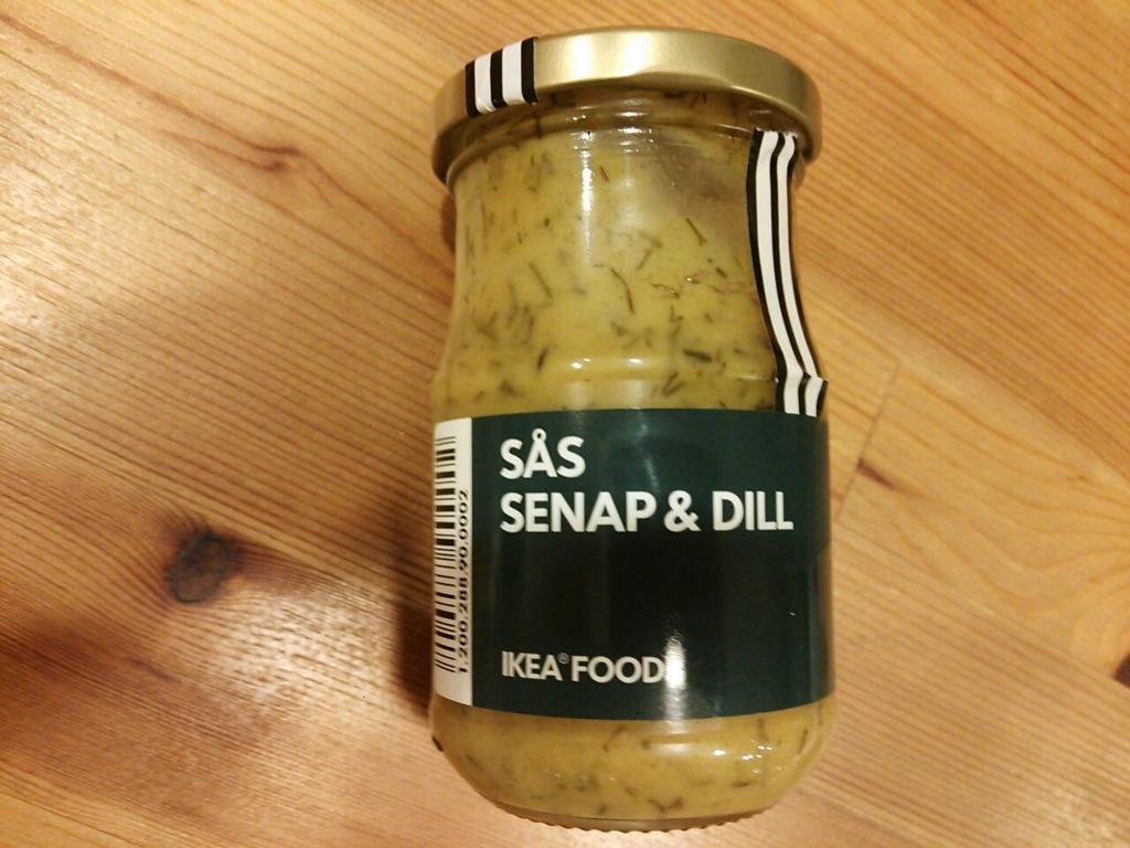 イケアのサーモンソースはおすすめの北欧食品