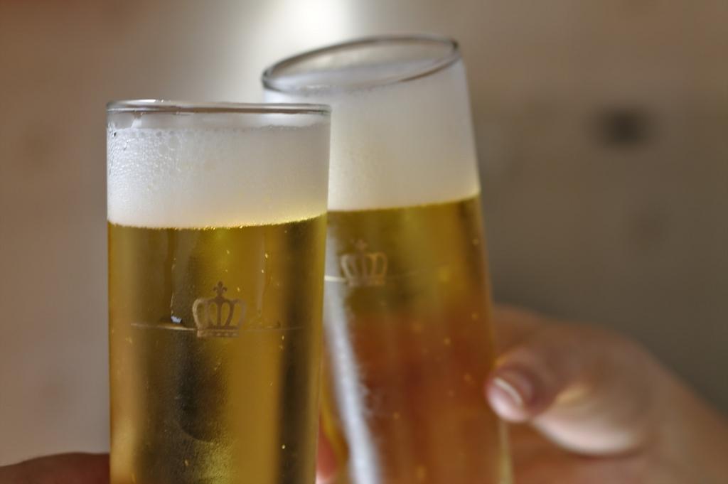 お風呂あがりに冷たいビールはダメ