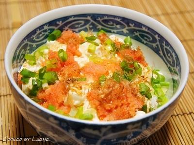 明太子丼の時短アレンジレシピ