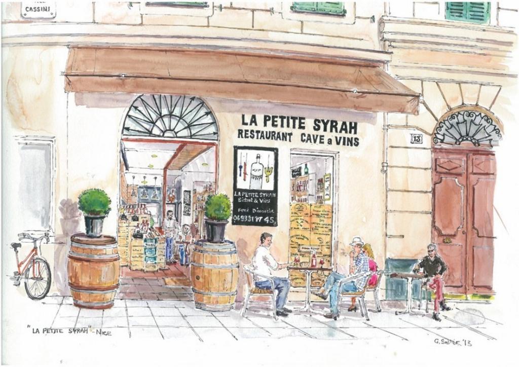 ニースにあるカフェでは注文の仕方でコーヒーの値段が変わる