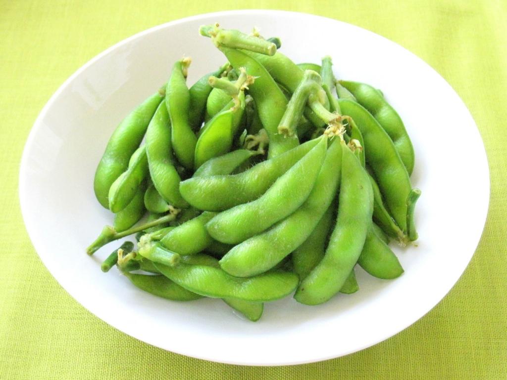 よく眠るために枝豆を食べよう