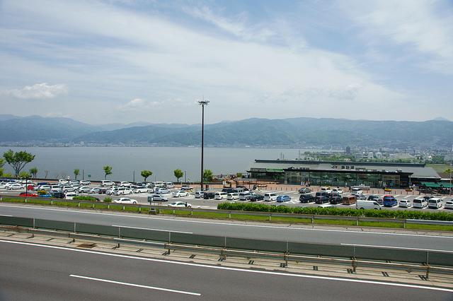 諏訪湖SAはおすすめの大人気サービスエリア