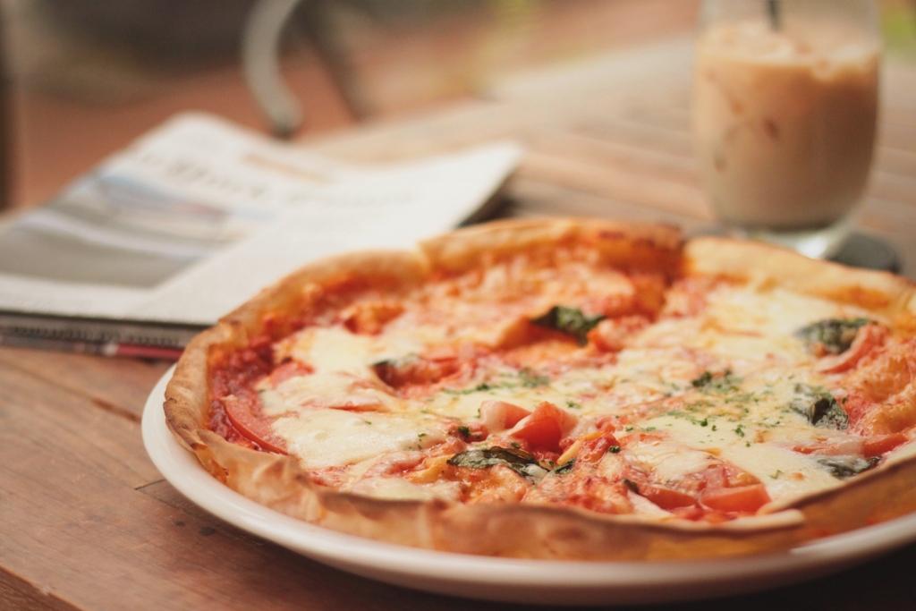 ソースがクリーム系のピザは太りやすい