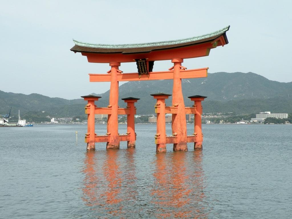 広島県は外国人観光客に大人気