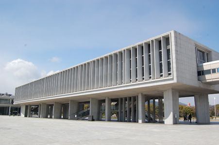 広島の原爆平和記念資料館