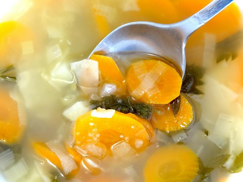 野菜スープは女子力がアップする飲み物