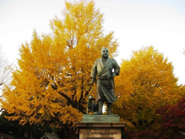 東京の上野恩賜公園のいちょう並木はおすすめ