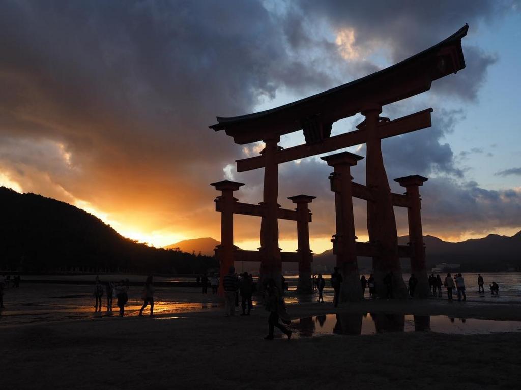 広島県の厳島神社のある宮島