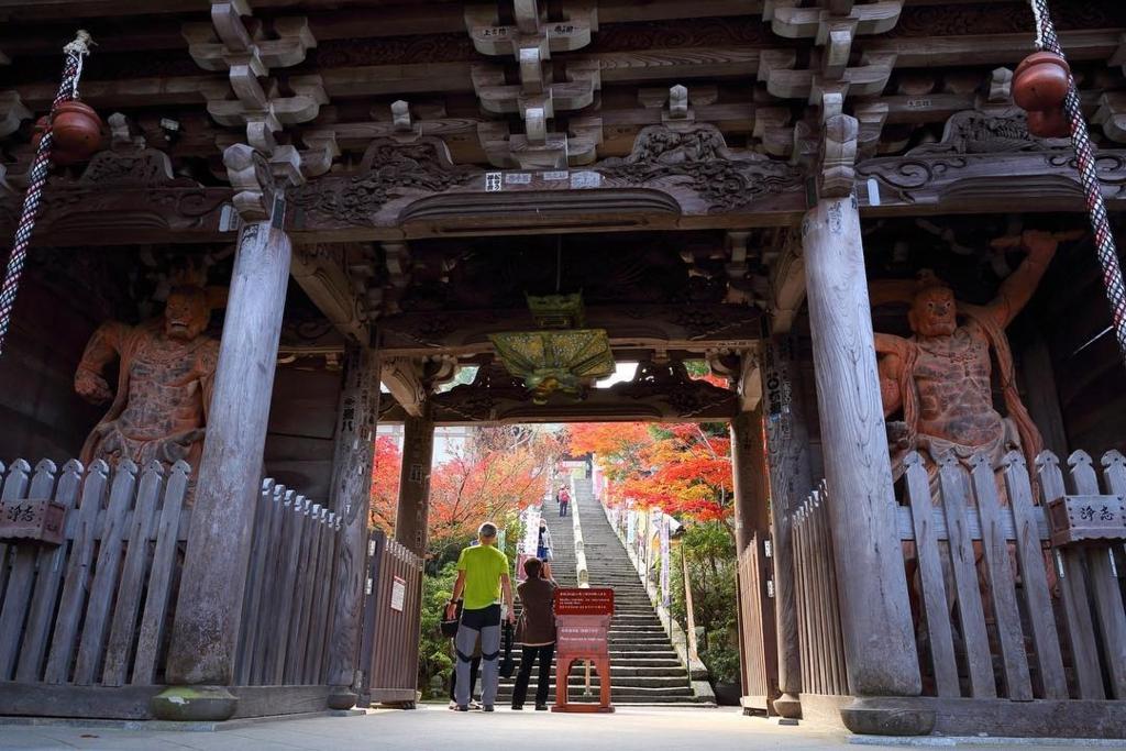 宮島の紅葉は大聖院も見どころ