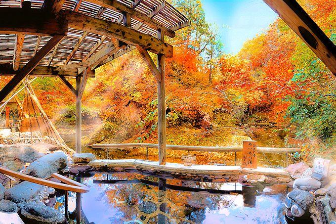 紅葉が美しい宮城県の「ゆづくしSalon一の坊」