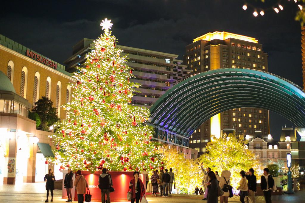 恵比寿ガーデンプレイスは東京のおすすめイルミネーションスポット