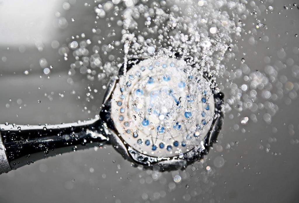 風邪を早く治すには熱いシャワーを浴びる