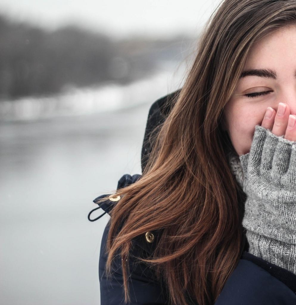 暖かさを保つために空気の層をつくる