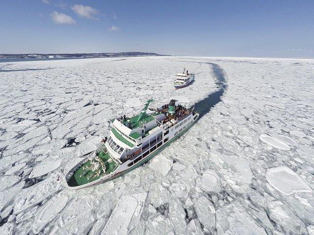 冬の旅行は北海道の流氷がおすすめ