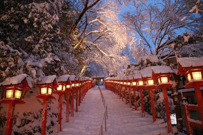 冬の旅行は京都の貴船神社がおすすめ