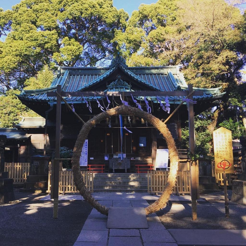 東京の代々木八幡宮はおすすめの穴場初詣スポット