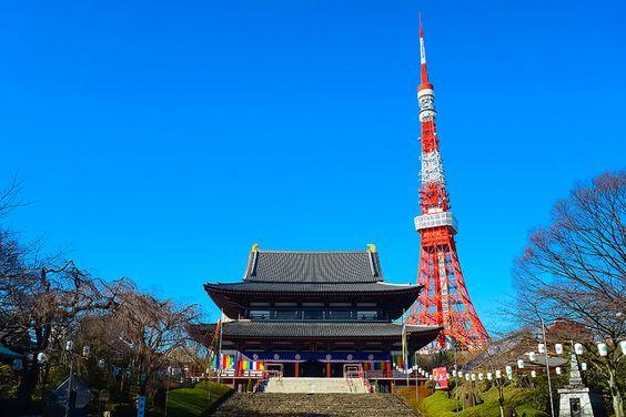東京の増上寺はおすすめの穴場初詣スポット