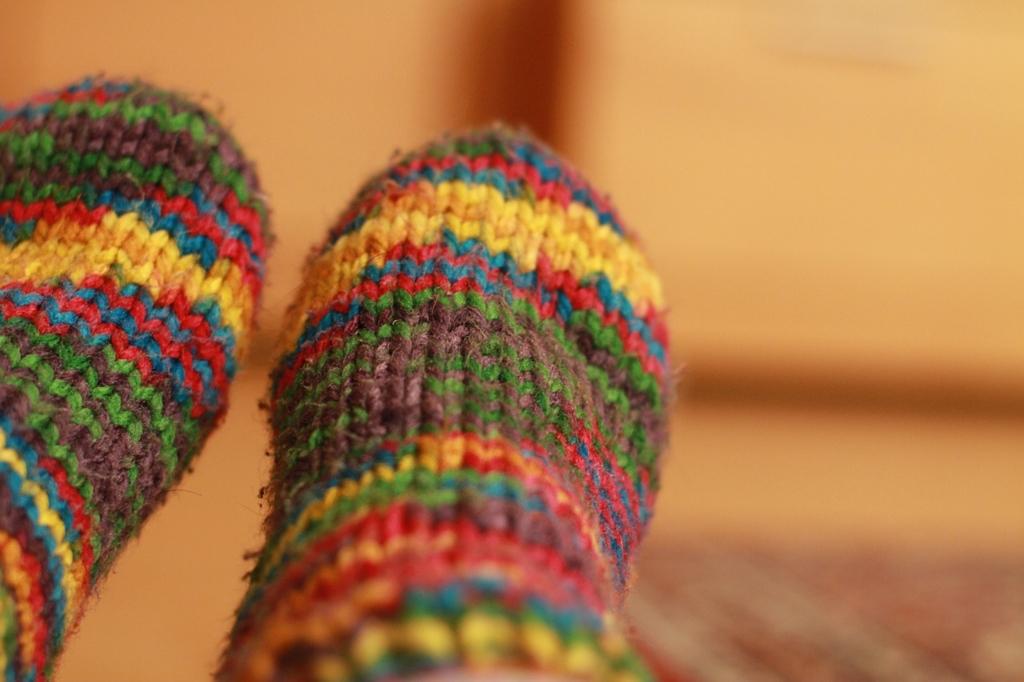 靴下を重ね履きすると冷え性になりやすい
