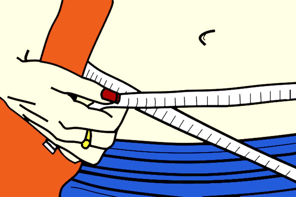 運動せずにお腹にくびれをつくる良い姿勢ダイエット
