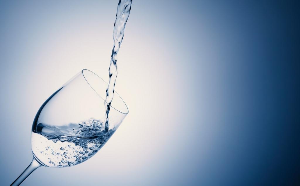 水を一度にたくさん飲んではいけない