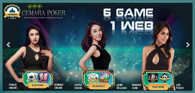 CemaraPoker Situs Judi Poker dan Domino Online Terpercaya
