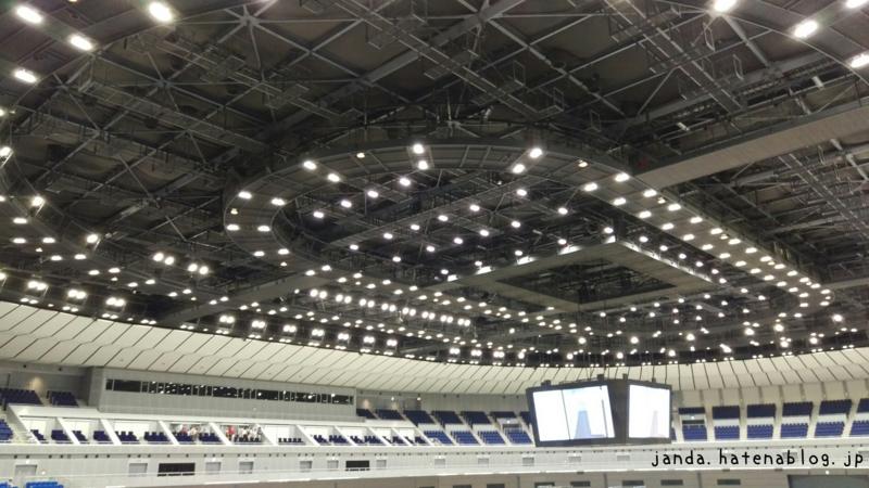 横浜アリーナ天井照明