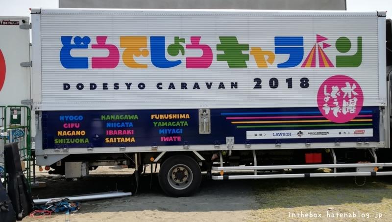 どうでしょうキャラバン2018トラック