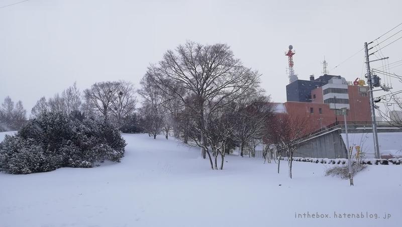 平岸高台公園冬