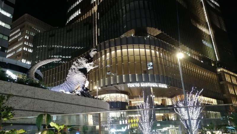日比谷ゴジラスクエア 新ゴジラ像