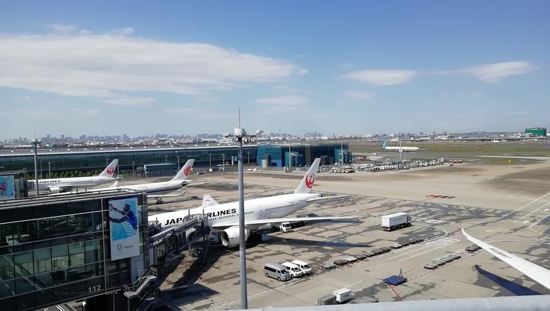 羽田空港国際線飛行機