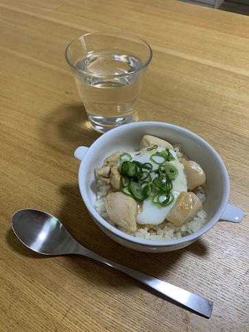 鬱 簡単ランチ 鶏肉の味噌ダレ丼