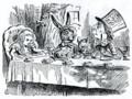 [art]ジョン・テニエル John Tenniel 「アリスのお茶会 The Hatter's Tea Party」